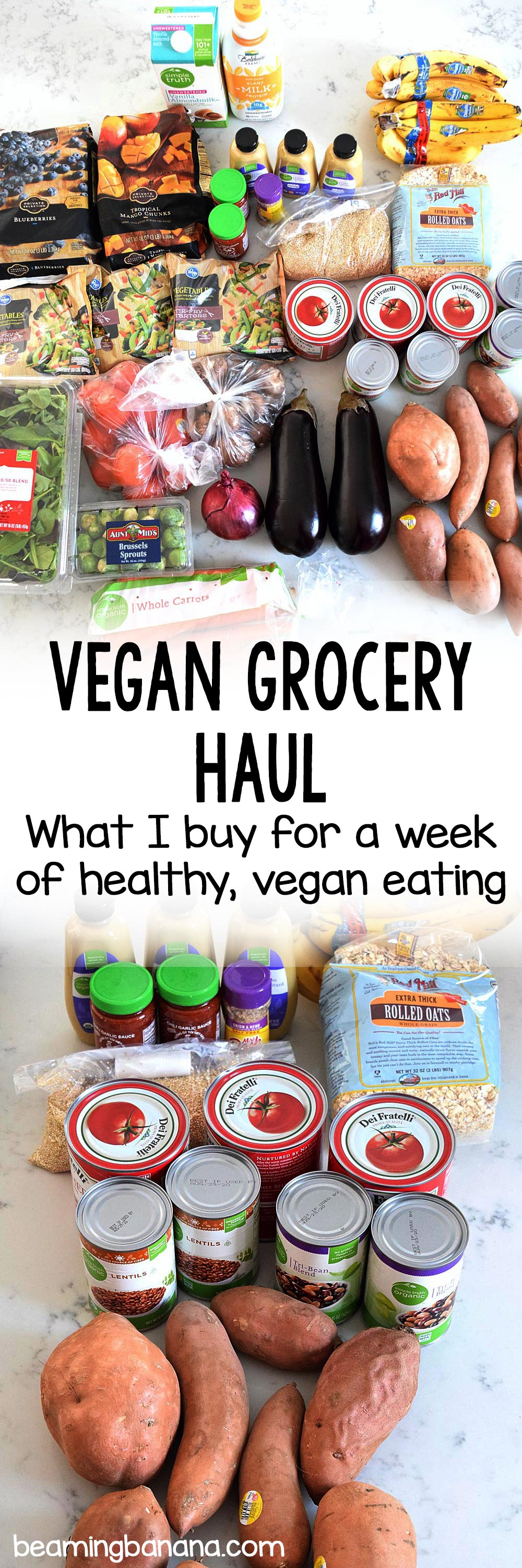 Vegan Grocery Haul - Sweet Vegan Sara